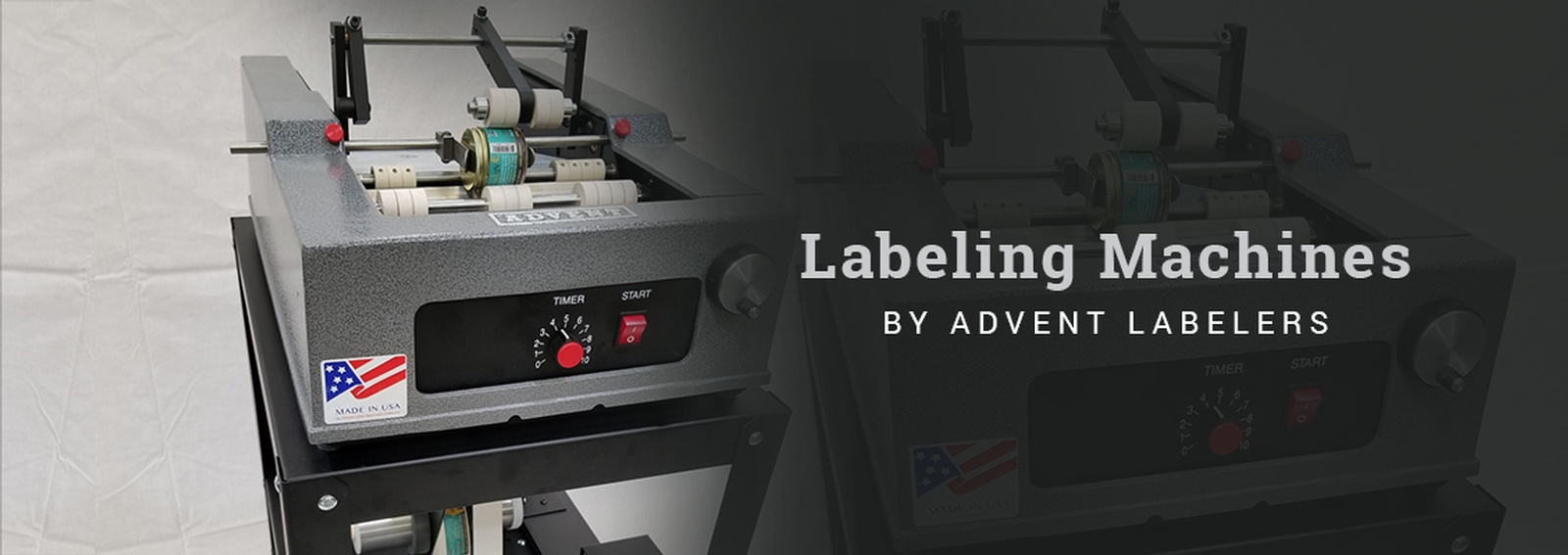 Labeling Machines by Advent Labelers - Best Labeling Applicators Manufacturing Company in America